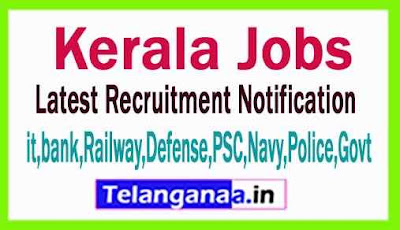 Latest Kerala Government Job Notifications