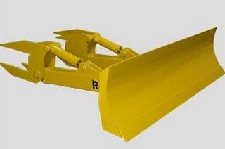 Universal Blade (U-Blade) bulldozer