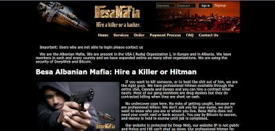 situs pembunuh bayaran di dalam deep web