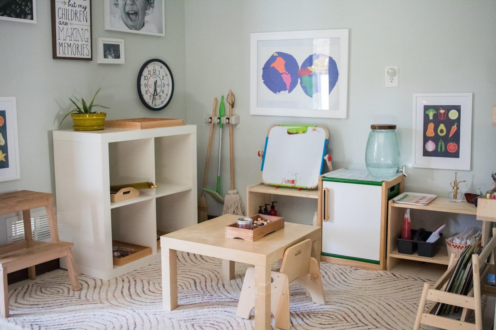 Montessori Home Our Art Area