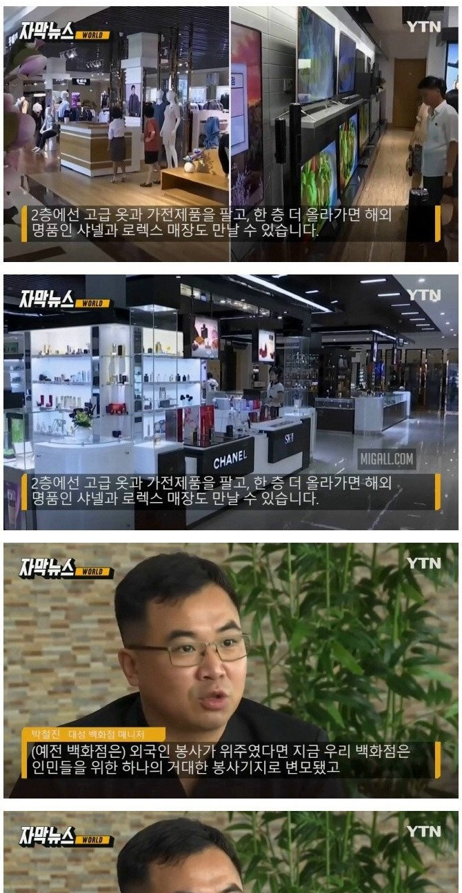 북한의 백화점