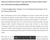 Contoh Review Jurnal Ekonomi Industri Pdf Download