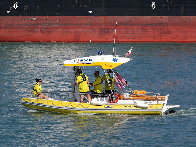 Water ambulance, port of Livorno