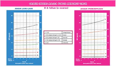 Contoh Dokumen Grafik Tinggi Badan Berbanding Usia