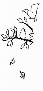 鳥のバリエーション、木にとまる鳥