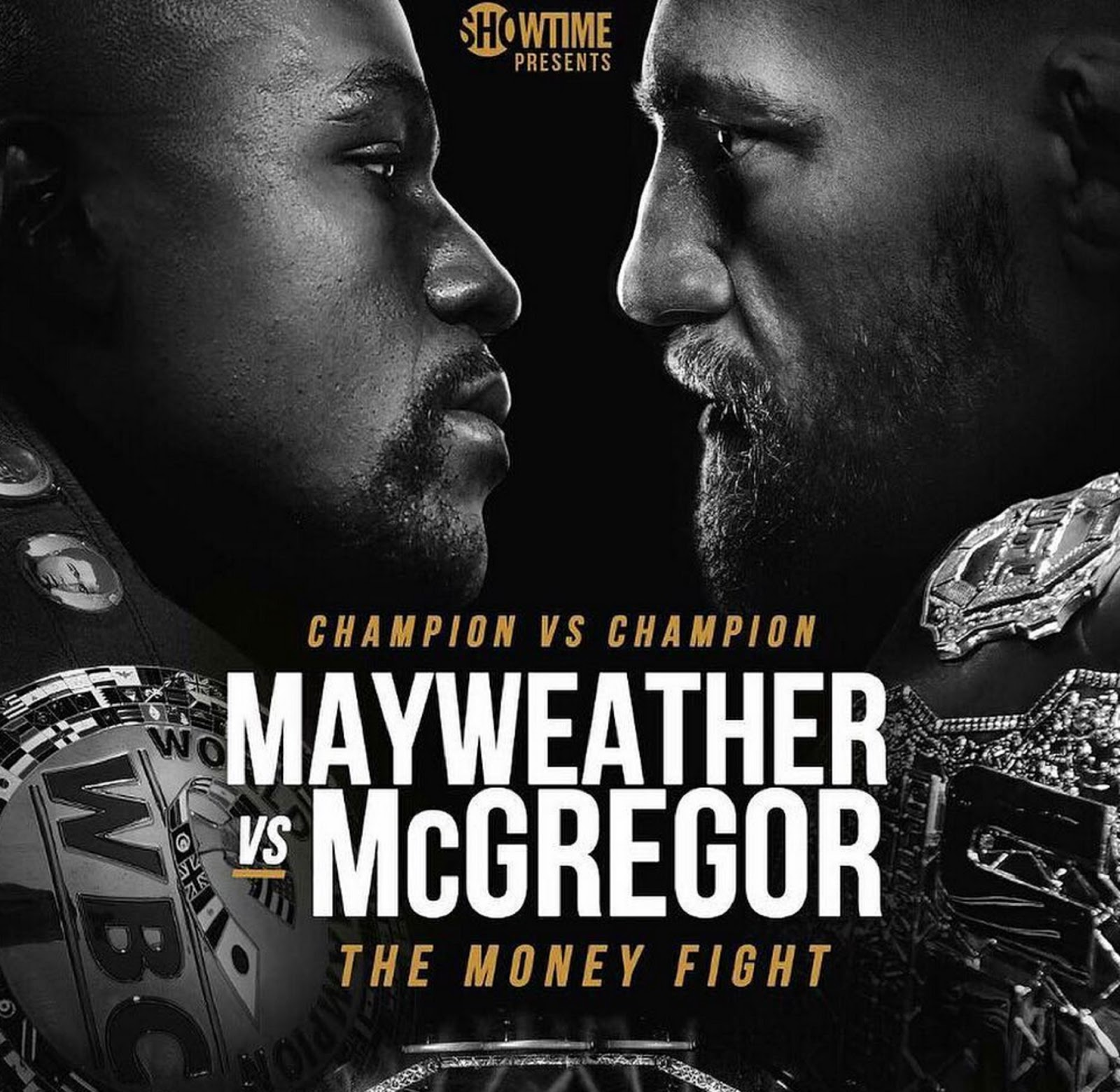 FLOYD MAYWEATHER VS. CONOR MCGREGOR 8