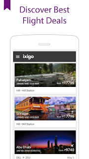 ixigo – the Flight Booking App // fly, leaving all the worries behind