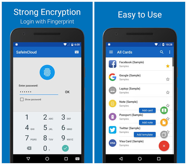 SafeInCloud Password Manager SafeInCloud Pro v17.2.0 APK Is Here ! [LATEST] Apps