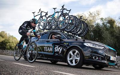 Η Ford Motor Company υπέγραψε πολυετή συμφωνία συνεργασίας με την Team Sky