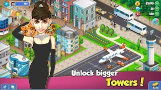 Tower Sim: Pixel Tycoon City Apk v1.1.1 Mod Unlimited Money Terbaru