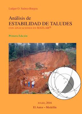 Descargar libro pdf - analisis de estabilidad de taludes - geolibrospdf