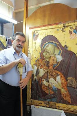 """Αφιέρωμα της εφημερίδας """"Ορθόδοξη Αλήθεια"""" στον συμπολίτη μας Αγιογράφο Κωνσταντίνο Ξενόπουλο."""