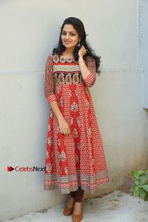 Telugu Actress Nikhila Vimal Latest Stills in Anarkali Dress  0208.JPG