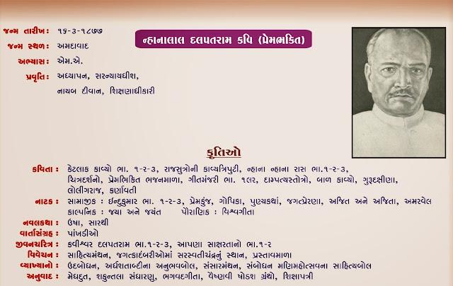 Nahnalal Ni Kavita Nu Ek Alag Swarup Hatu Article By Naresh K. Dodia