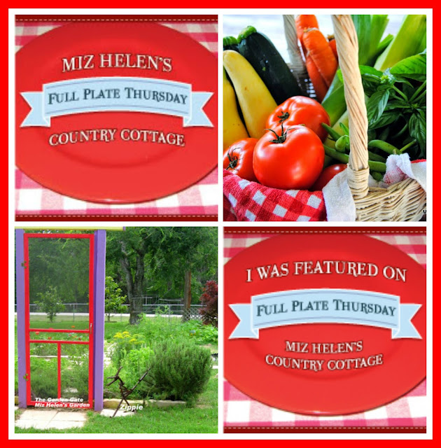 Full Plate Thursday 6-8-17 #331 at Miz Helens Country Cottage