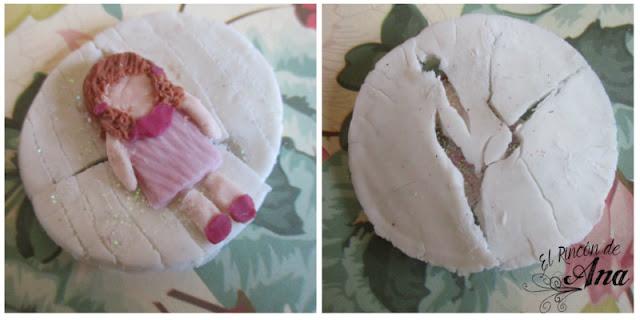 Collar de muñequita en porcelana fría - Colaboración con Ysne