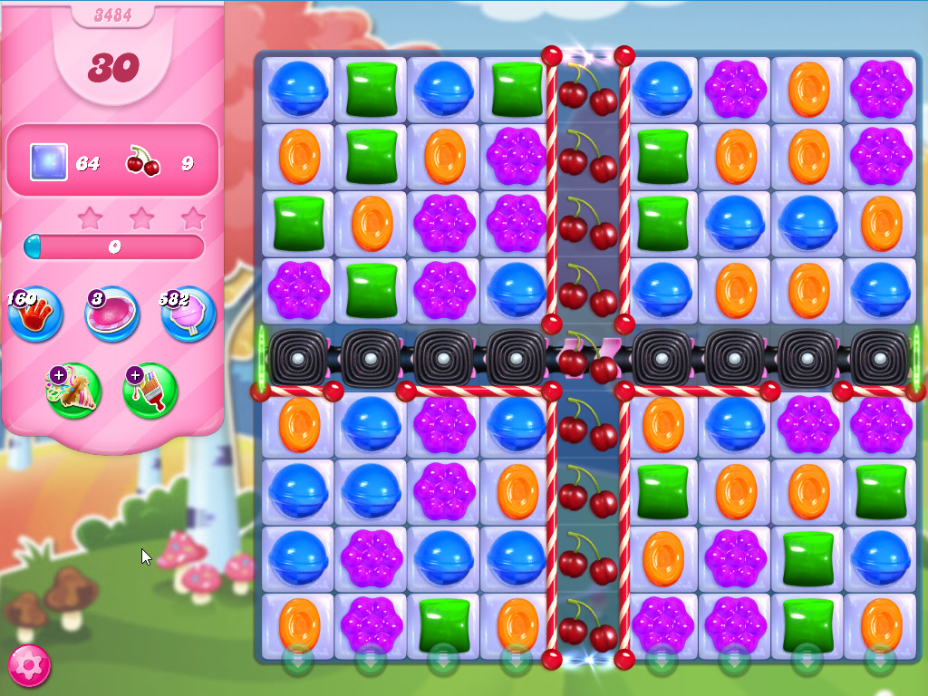 Candy Crush Saga level 3484
