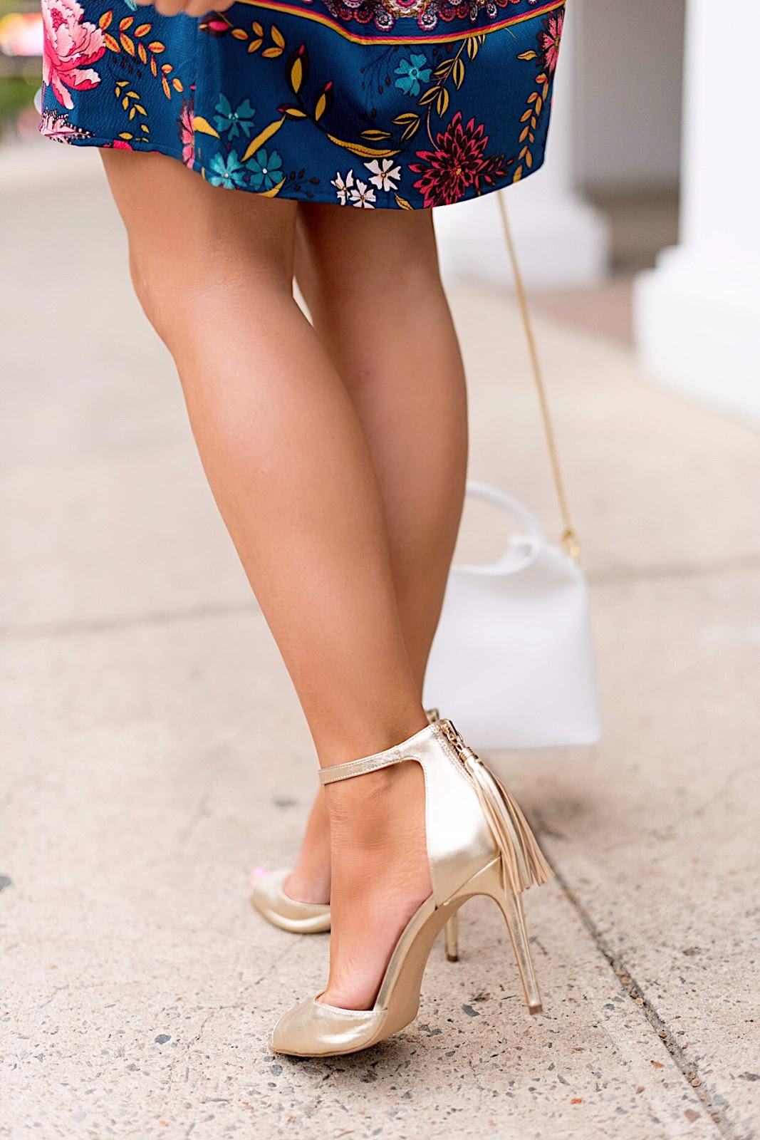 Botkier Tassel Sandals - Click through to see more on Something Delightful Blog