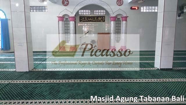 Pusat Karpet Masjid Minimalis Import Terlengkap Kualitas