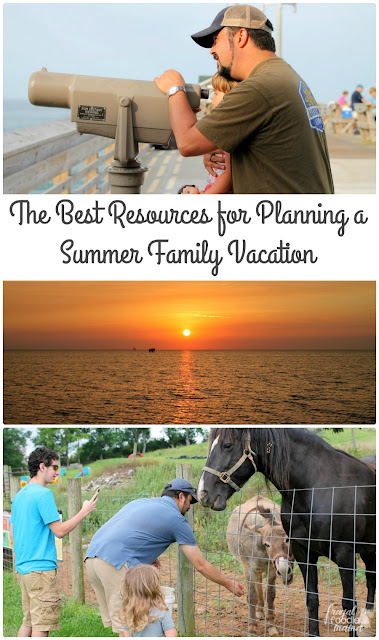 From deciding where to go, how to get there, & how to get the most bang for your buck, here are The Best Resources for Planning a Summer Family Vacation.