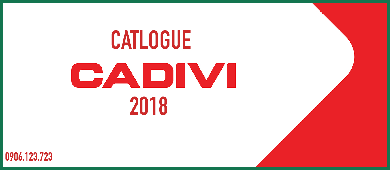 Bảng giá cáp ngầm trung thế 24kv Cadivi 2018