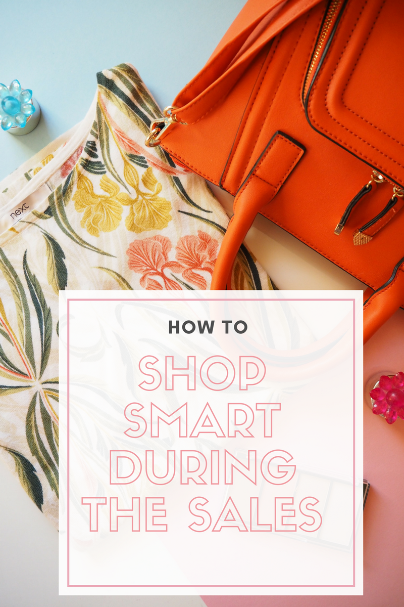 How to shop smart during the sales