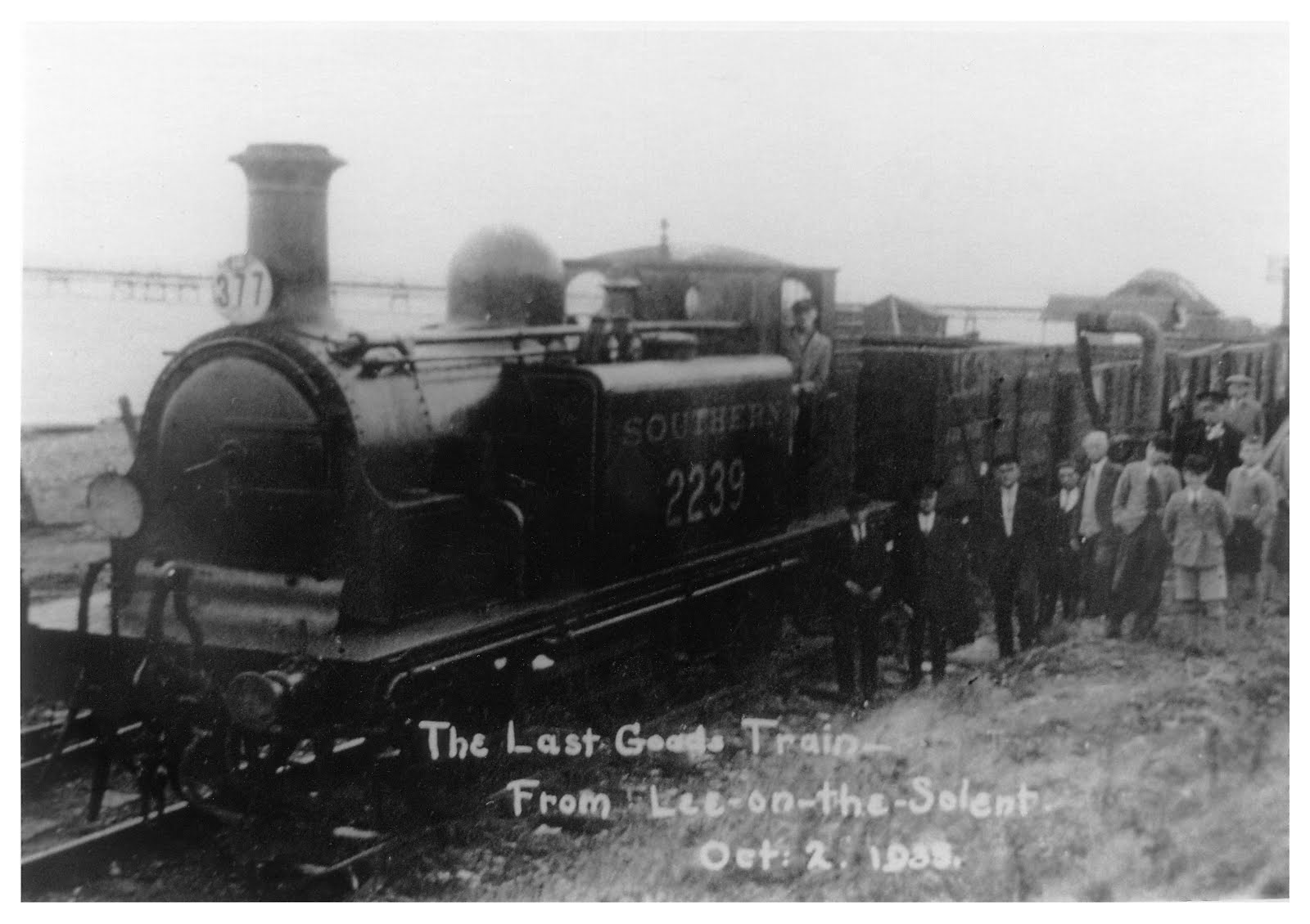 Last Goods Train from Lee