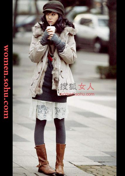 corat coret mutia: Korean Winter Look