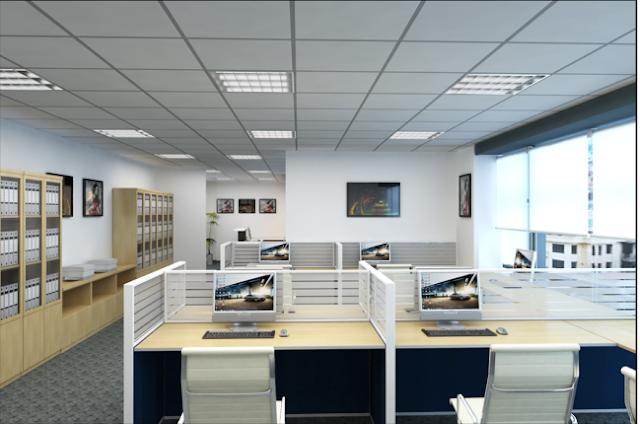 Thiết kế văn phòng mẫu tại Kim Mã Building