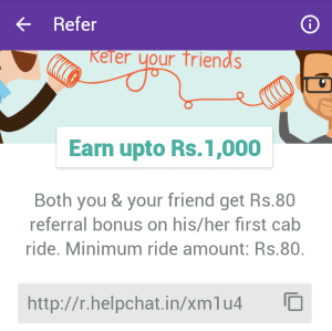 helpchat refer and earn