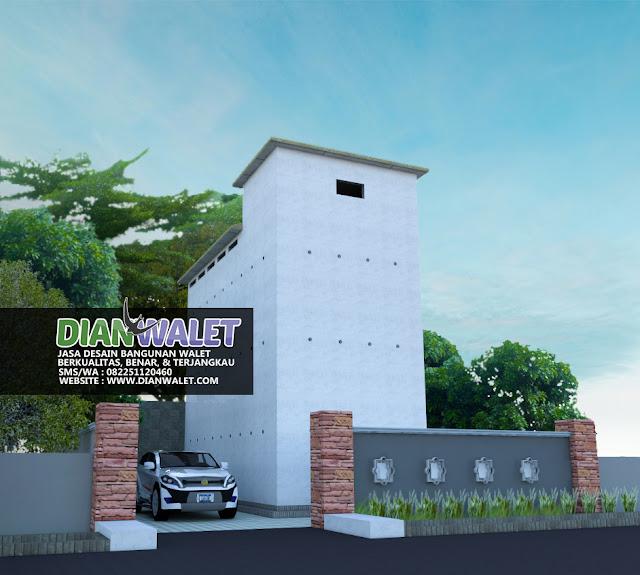 Kumpulan Desain Rumah Walet 3D Realistis Berbagai Ukuran
