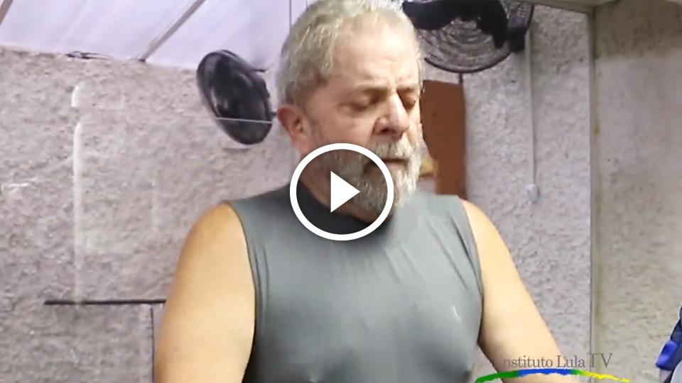 Lula publica vídeo fazendo exercícios e se torna alvo de piadas e chacota na internet; veja