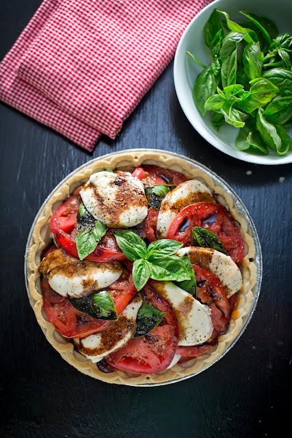 Gluten-Free Caprese Pie