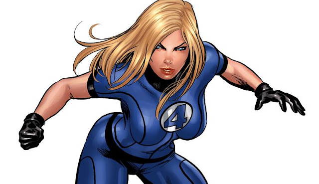 siapa invisible woman Anggota Utama Fantastic Four
