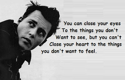 """Johnny Depp Quotes About Feel"""