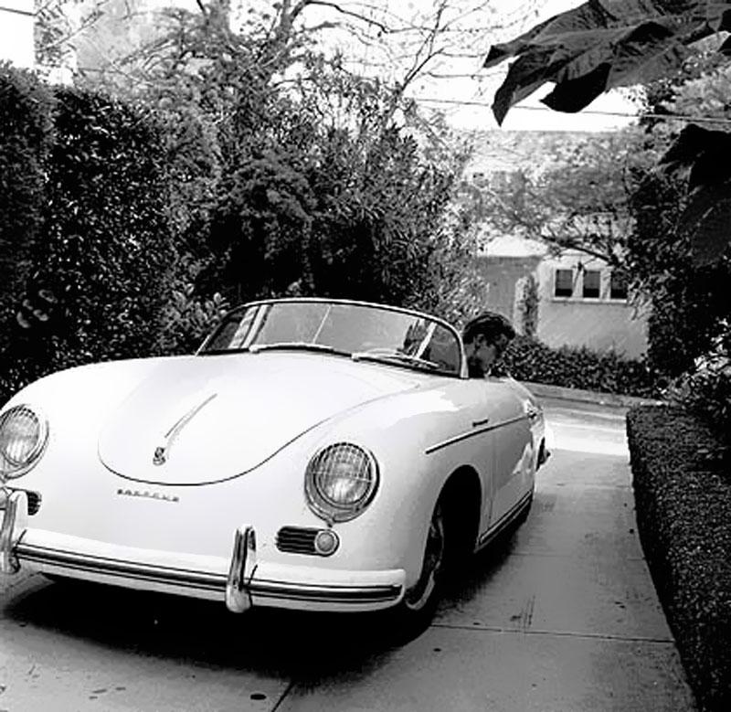 Porsche 356: Jake's Car World: James Dean: Porsche 356 Super Speedster