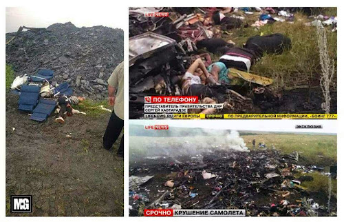 Terkini : Pesawat Malaysia Airlines (MAS) Terhempas Di Ukraine
