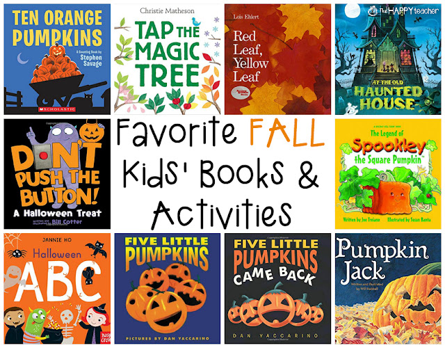 Autumn Books and Activities for Ages 3-8