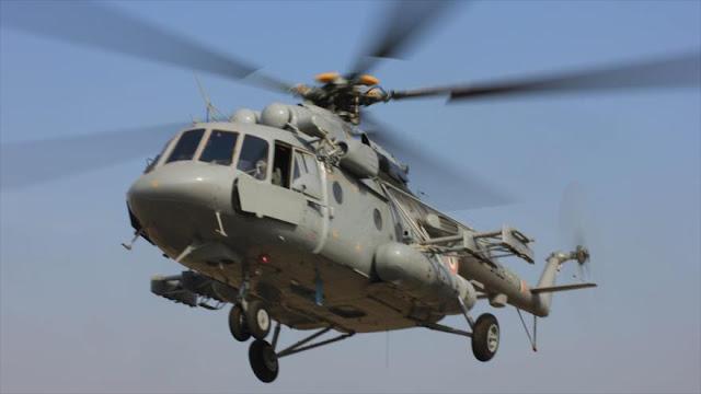 México va a comprar a Rusia otro lote de helicópteros Mi-17