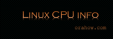 Get CPU info using /proc/cpuinfo on Linux