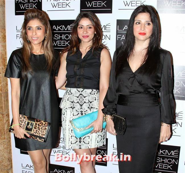 , Bollywood Actresses at Manish Malhotra Show at LFW Summer Resort 2014