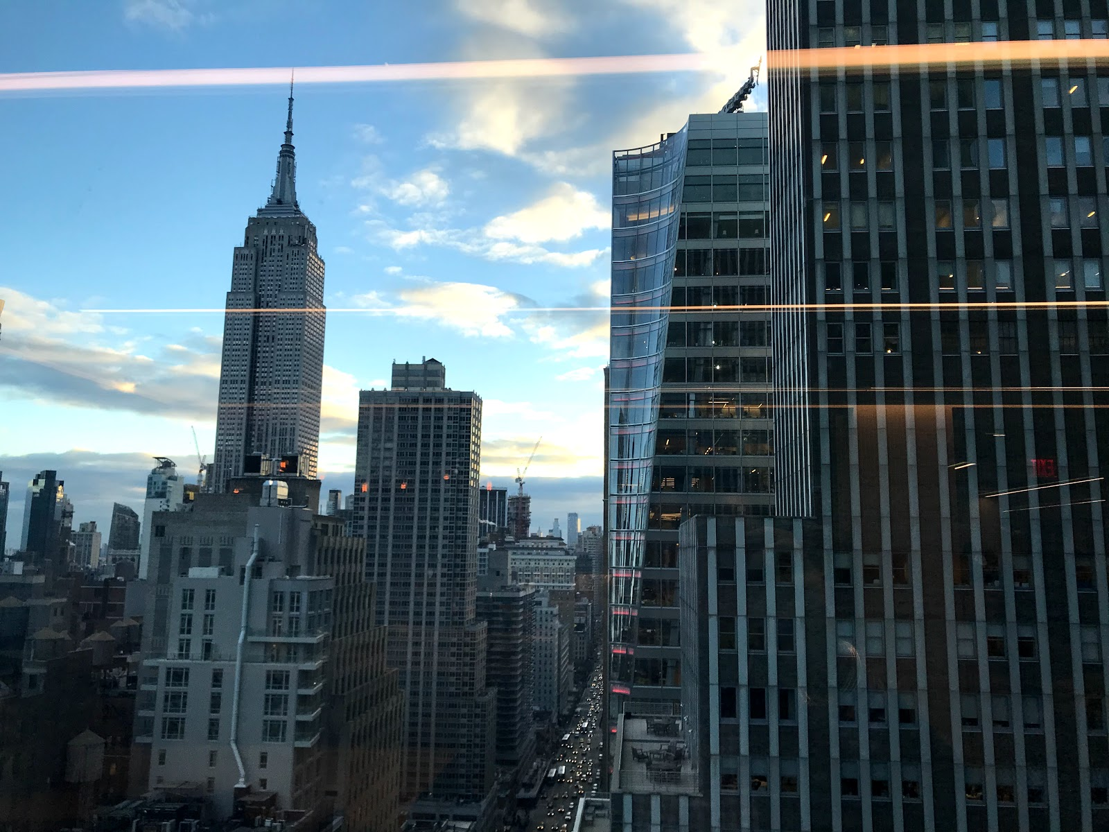 Salesforce Tower NYC 17th Floor view of the Empire State building