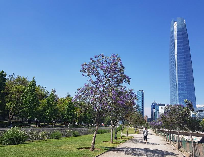 Melhores bairros para se hospedar em Santiago