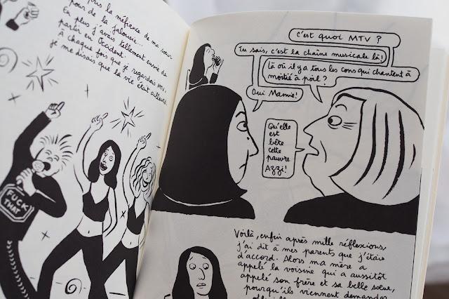 Extrait Broderies - Marjane Satrapi