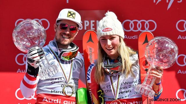 ESQUÍ ALPINO - Copa del Mundo 2016/2017: Marcel Hirscher y Mikaela Shiffrin dominadores
