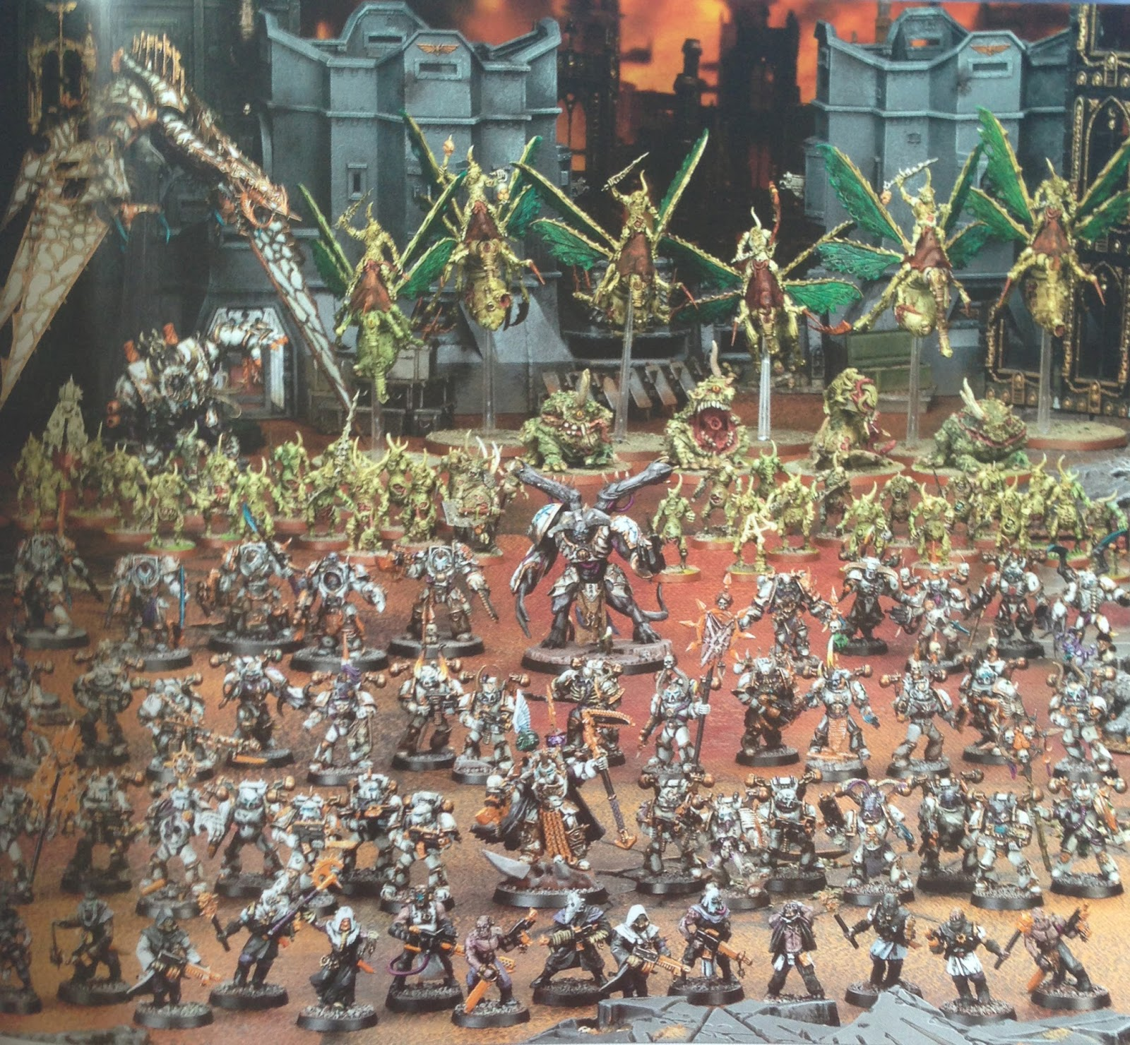 chaos marines black legion painting