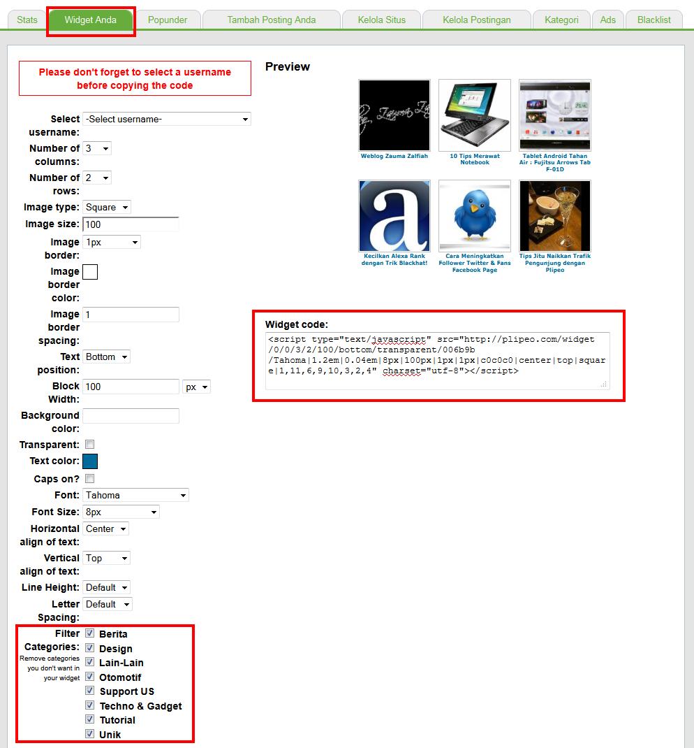 Cara Memasang Daftar Isi Posting Pada Sidebar Wordpress: Cara Meningkatkan Traffic Dan Visitor Via Plipeo.com