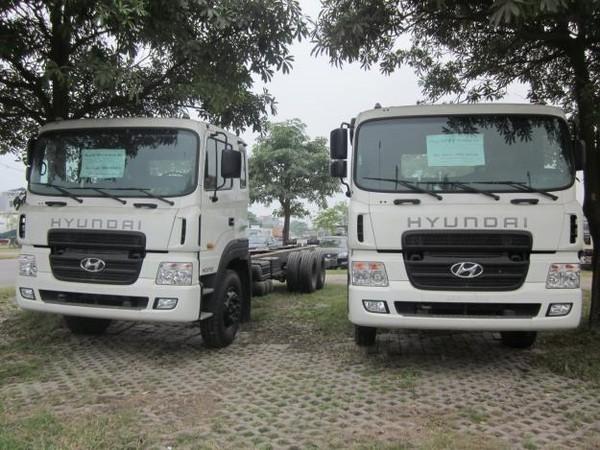 Xe tải 14 tấn hyundai hd250