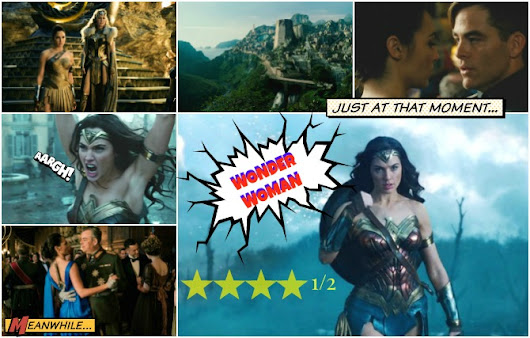"'WONDER WOMAN' REVIEW - ""ONLY LOVE WILL TRULY SAVE THE WORLD"""