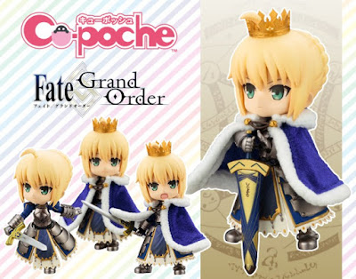 "Saber Altria Pendragon Cu-Poche de ""Fate/Grand Order"" - Kotobukiya."